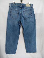 Levis Silvertab Baggy Size 33 X 31 Inseam Jeans Distressed Medium Straight Leg