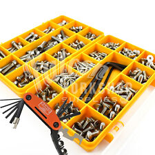 343 ASSORTED A2 STAINLESS M4 M5 M6 BOLTS SCREWS BAHCO MULTI BIKE POCKET TOOL KIT