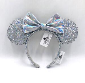 Disney Parks Silver 2020 Minnie Ears Cinderella Edition Magic Mirror Headband