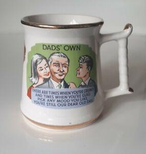 "Vintage Prince William Ware England ""Dad's Own"" 60s Kitch Mug/Tankard"