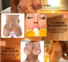 Soft Silicone 3D Female Relaxing Half-body Men's Training Tools Passion No bed