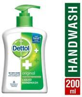 10 X Dettol Original Liquid Hand Wash pH Liquid Soap Kills 99.9% Germ ANTI-BACTE