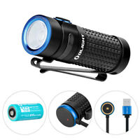 Olight S1R II 1000 Lumen Compact Rechargeable EDC Flashlight with Single RCR123A