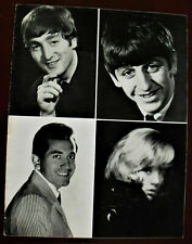 MEGA RARE THE BEATLES PROGRAM CONCERT AT THE OLYMPIA IN PARIS FRANCE IN 1964