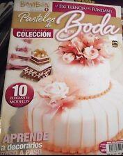 "MEXICAN COOKING RECIPES IN SPANISH *PASTELES DE BODAS WEDDINIG CAKES""  NEW"