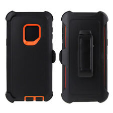 Samsung Galaxy S9 Plus Shockproof Case Cover, Belt Clip fits Otterbox Defender