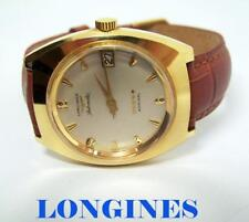 Vintage LONGINES 5 Star ADMIRAL Automatic DATE Watch Cal.345* EXLNT* SERVICED