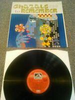 GHAZALS TO REMEMBER LP EX (+) !!! HMV INDIA ECLP 2468 BEGUM AKHTAR MUKESH JHARIA