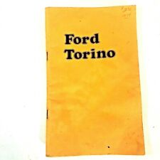 Owners Manual 1974 Ford Torino Original Factory Maintenance Guide Vintage