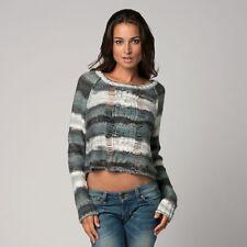 $64 Fox Racing Women's Glimmer Crop Sweater Size XS