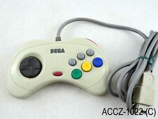 Sega Saturn Japanese White Controller JP Mist Gray Control Pad SS US Seller C