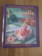 CINDERELLA POP-UP FAIRYTALE BOOK WITH SOUNDS  - very slight damage to side