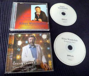 2 CDs Klaus Wunderlich Evergreens 1 (F. Grothe & R. Stolz) & Leichte Kost BELL