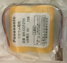 Brand New Panasonic Br-Ccf2Th Br-C Plc 6V 5000mAh Lithium Battery with Wire