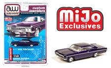 Auto World 1:64 Custom Lowriders 1966 Chevy Impala SS Metallic Purple