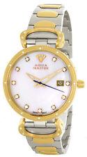 Aqua Master Womens Pearl Dial Two Tone Stainless Steel Bracelet Watch W#359_8