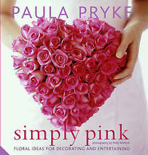 Simply Pink, Paula Pryke, New Book