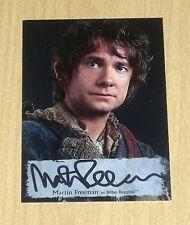 2016 Cryptozoic Hobbit Battle Five Armies poster autograph Martin Freeman MF-P
