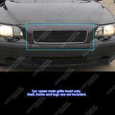 Fits 2001-2004 Volvo S60 Black Main Upper Billet Grille Grill Insert