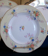 HAVILAND (THEO)-LIMOGES-JEWEL CREAM (1920-36) DINNER PLATE(s)-EXCELLENT!! GILT!!