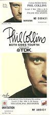 RARE / TICKET DE CONCERT - PHIL COLLINS ( GENESIS ) TOULOUSE 2 MAI 1994