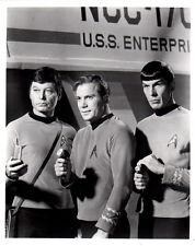 Star Trek William Shatner Deforest Kelley Leonard Nimoy 8x10 photo P5915