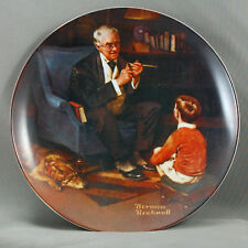 Plate Knowles The Tycoon Norman Rockwell 1982