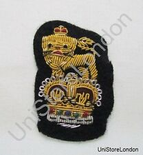 General Staff Officer  Beret Badge Navy Blue R1107