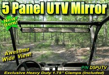 NEW!! WIDE VIEW MIRROR FOR GATOR / UTV / SIDE-BY-SIDE # D5PUTV - pm