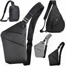 Men Women Sling Bag Shoulder Chest Bag Crossbody bag Cycle Pack Satchel Backpack