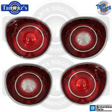 71 SS Malibu Back Up & Tail Light Lamp Lens USA  -  SET