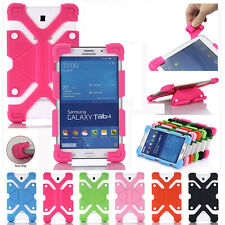 """Universal Soft Silicone Shockproof Stand Case Cover For Various 7"""" 8"""" 10"""" Tablet"""
