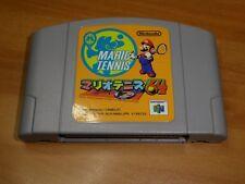 GAME/JEU SNES KONAMI SUPER NITENDO JAPANESE NUS-NM8J-JPN MARIO TENNIS JAPAN **