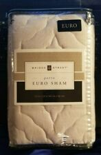 New Bridge Street Euro Pillow Sham - Porto - Cream