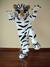 SALE!! WHITE TIGER MASCOT COSTUME, GREAT FOR ELEMENTARY OR MIDDLE SCHOOL MASCOT