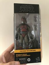 Star Wars Black Series Mandalorian Super Commando *Sold Out* The Clone Wars
