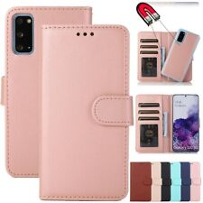For Samsung Note 20 Ultra S21 Plus Magnetic Leather Card Wallet Flip Case Cover