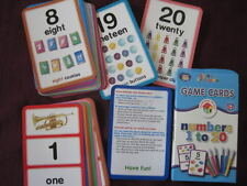 ETA Learning Place Numbers 1 to 20 Flash Cards New! Counting Math PreK +