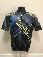 Vintage Descente Sport Cycling Jersey Shirt Size L