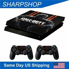 Vinyl Skin Stickers for Playstation 4 Console & Controller PS4 Set Cover Decals