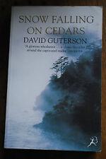 Snow Falling On Cedars von David Guterson PB Bloomsbury englisch Thriller