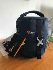 BRAND NEW LOWEPRO Scout SH 100 SH100 Camcorder Camera Case Bag Slate Blue BNWT