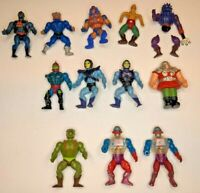 Lot of 12 1980s He Man Action Figures Masters of the Universe MOTU Skeletor
