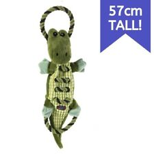 Charming Pet Ropes A-Go-Go Textured Dog Toy wiro K9 Tough Guard - Jungle Gator