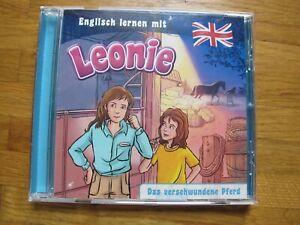 """Englisch lernen mit Leonie """"Das verschwundene Pferd"""" CD"""