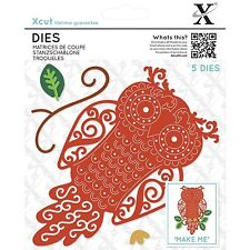 DOCRAFTS XCUT DIES FILIGREE OWL - 5 DIE CUTTING SET