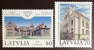 Latvia 2001 2 Commemorative Sets MNH