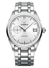 NIB Eterna 1948 Legacy Small Second Automatic Spherodrive Watch, AD, MSRP:$7900