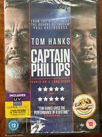 Captain Phillips DVD 2013 True Life Somalian Pirates Thriller Movie BNIB