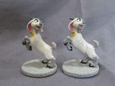 New Lot of 2 Vintage Disney's The Hunchback of Notre Dame Pvc Figure Djali Goat
